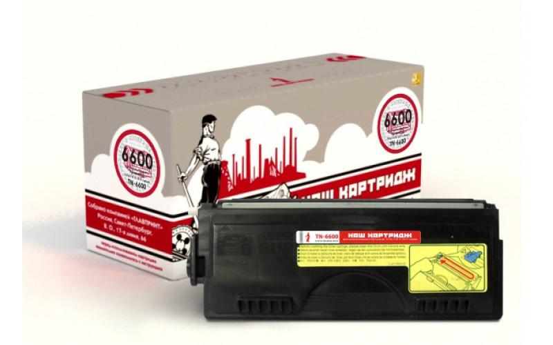Brother TN-6600 заправка картриджа