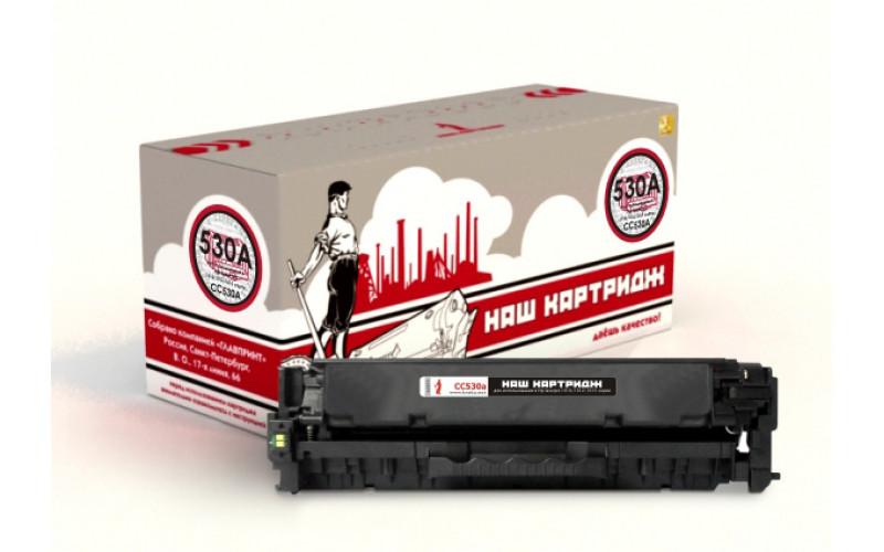 HP CC530A 304A заправка картриджа
