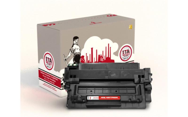 HP Q6511A заправка картриджа